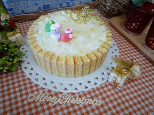 クリスマスケーキ試作b
