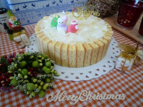 クリスマスケーキ試作a