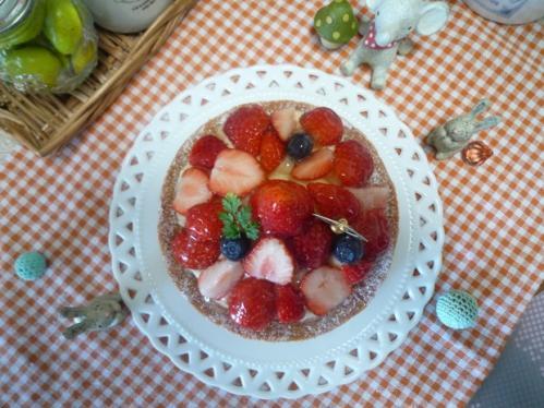 イチゴのタルト1
