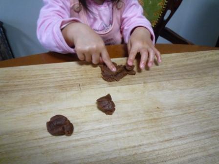 クッキー作りc