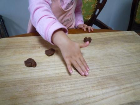 クッキー作りb