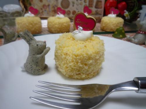 カスタードチーズケーキb