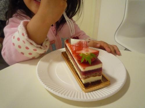 プレジールケーキ1