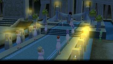 結婚式終了