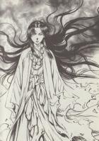 岡村賢二氏の描く伏姫