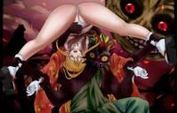 ムジュラに全身の自由を奪われる鈴姫