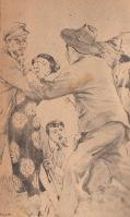 『豹(ジャガー)』の追手に見つかり、捕まってしまった錦華(ポプラ社『豹(ジャガー)の眼』版)