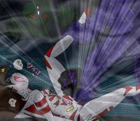 フィオラ姫VSゲロル星人