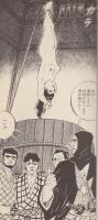 極寒の蔵の中で逆さ吊りにされ、水桶に突っ込まれる拷問を受ける蘭