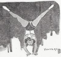 アクロバットダンサー