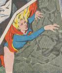スーパーパワーが使えなくなり、か弱い女性となってしまったスーパーガールは最大の危機を迎えます