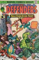 『THE DEFENDERS』第25号カヴァー