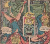 圧倒的な力技で攻めるロボットにスーパーガールも大苦戦