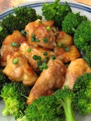 鶏肉のなんちゃってポン酢炒め