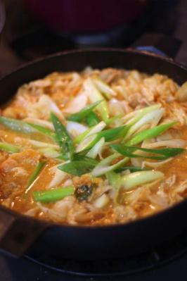 豚キムチ豆乳鍋