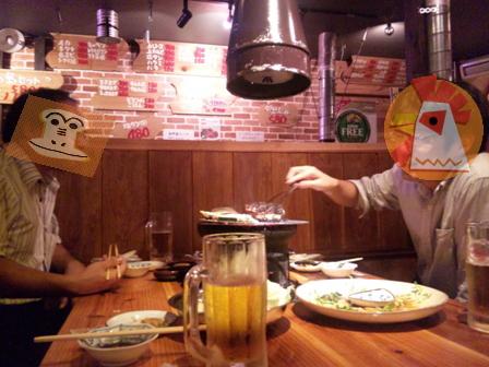 石垣島の焼き肉屋:店内