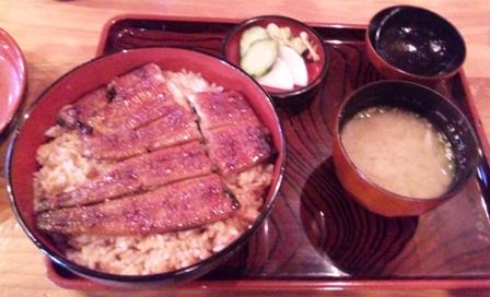 只喜:鰻丼(大)
