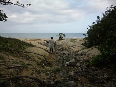 uliuliカフェ:浜