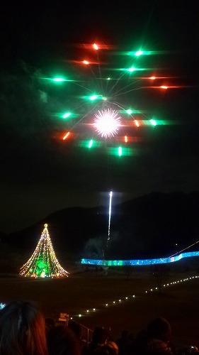 クリスマス花火