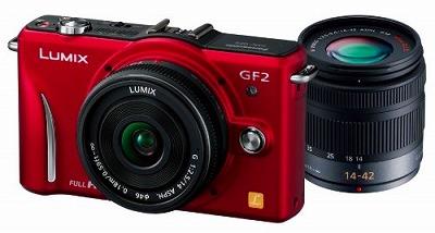 Panasonic デジタル一眼カメラ GF2