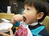 130119_沼津魚ランチつーくん食べる (2)