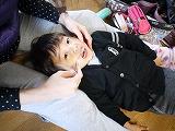 130203_れいちゃんに歯ブラシ (2)