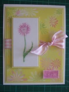 chalk card