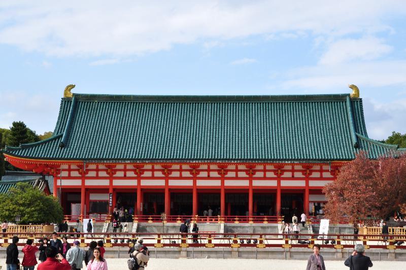 京都市 平安神宮 大極殿