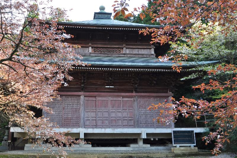四国中央市金田町  三角寺