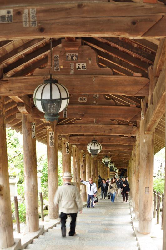 奈良県 長谷寺 境内