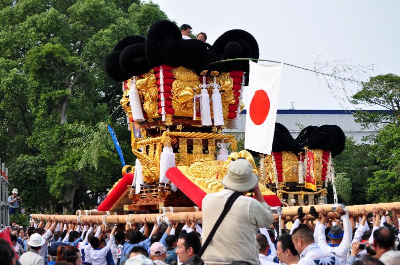 川之江秋祭り JAうま 金生東太鼓台