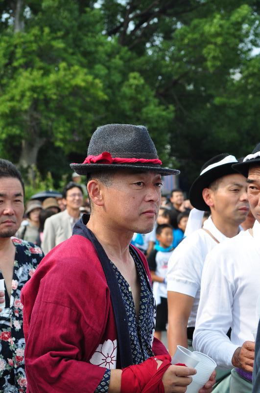 川之江秋祭り JAうま 祭りの男