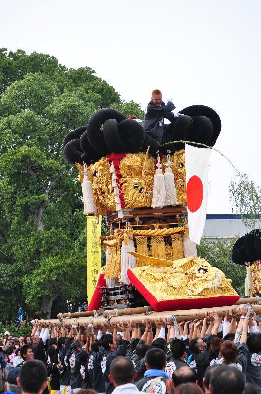 川之江秋祭り JAうま 下之町太鼓台
