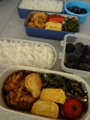 2012年8月31日のお弁当