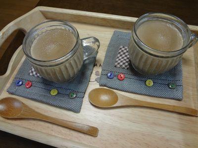 ほうじ茶プリン