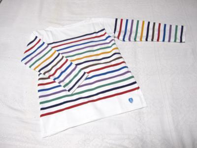 キセキのバスクシャツ