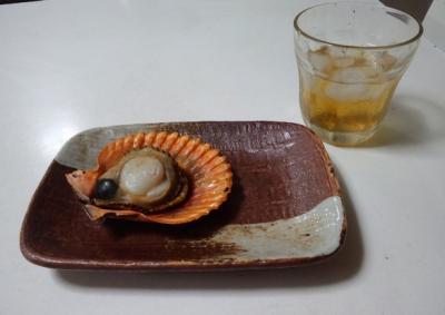 緋扇貝焼き