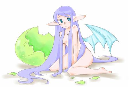 ドラゴン娘の卵3