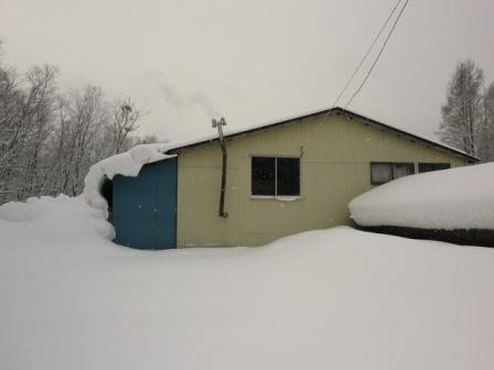 屋根雪2月1