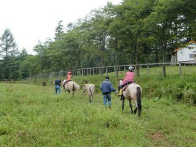 乗馬体験10