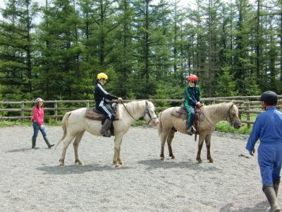 乗馬体験8