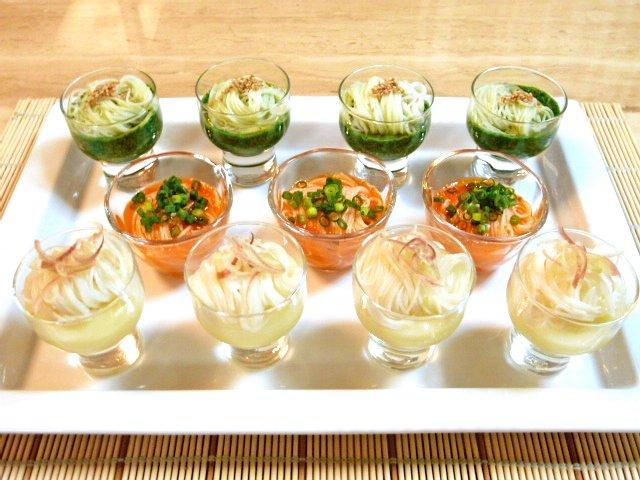 カラフル野菜のごち素麺♪3
