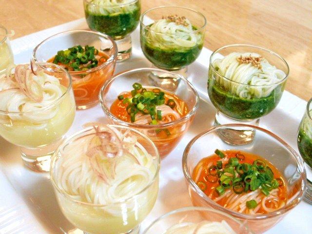 カラフル野菜のごち素麺♪2