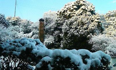 雪の煙突(H22.3,11)