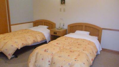 ホテルロッジ部屋1