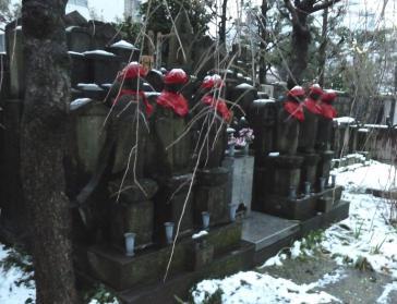 2012.02.29 雪の日 地蔵