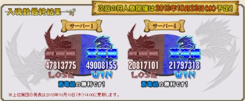 1009入魂最終結果