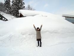 雪すごーい
