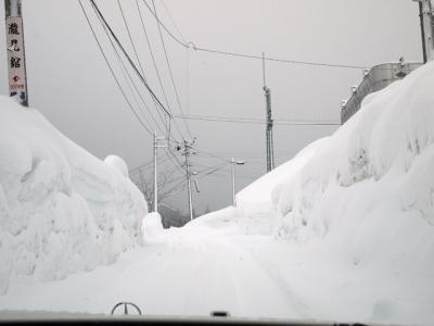 雪が多い!!
