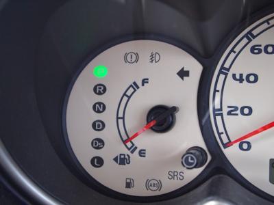 ガソリンのメモリ